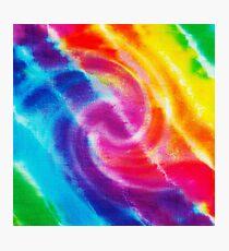 Rainbow Tie Dye 1 Photographic Print