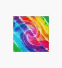 Rainbow Tie Dye 1 Art Board Print