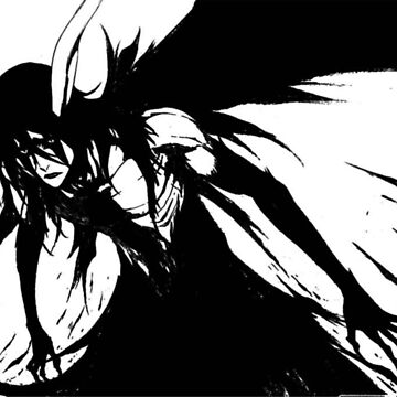 Ulquiorra Black and White by crazyowl