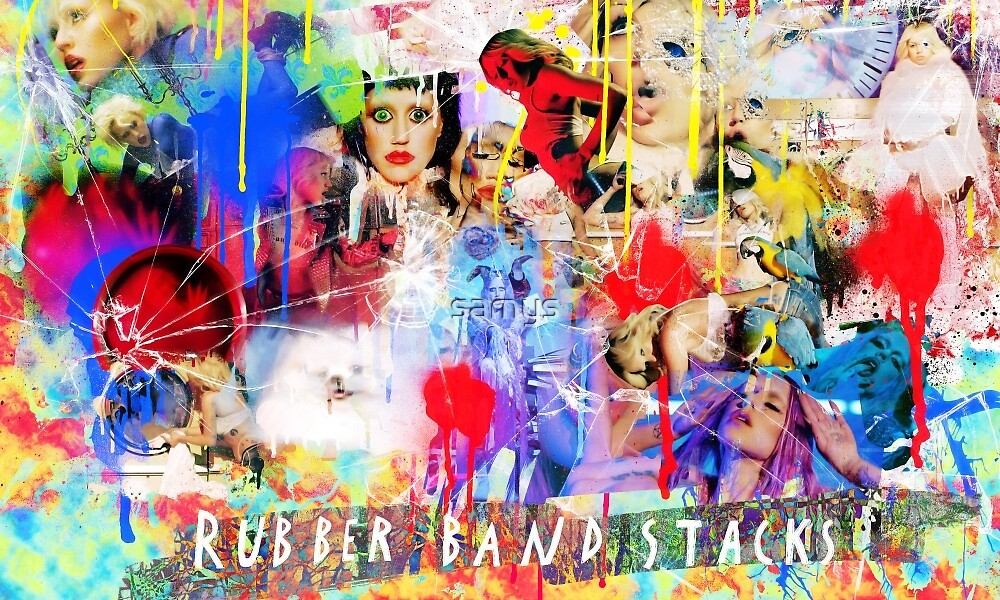 """Brooke Candy """"Rubber Band Stacks""""  by samys"""