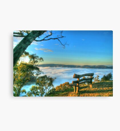 Rest Awhile Amongst The Clouds Canvas Print