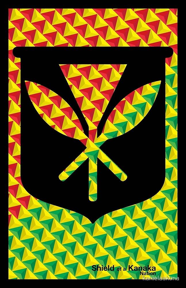 Shield of da Kanaka by kanielaakuna