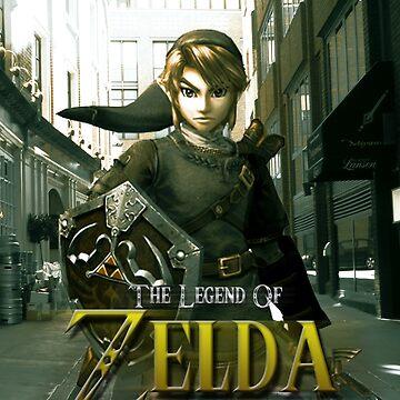 Legend of Zelda Movie Poster by Tarks