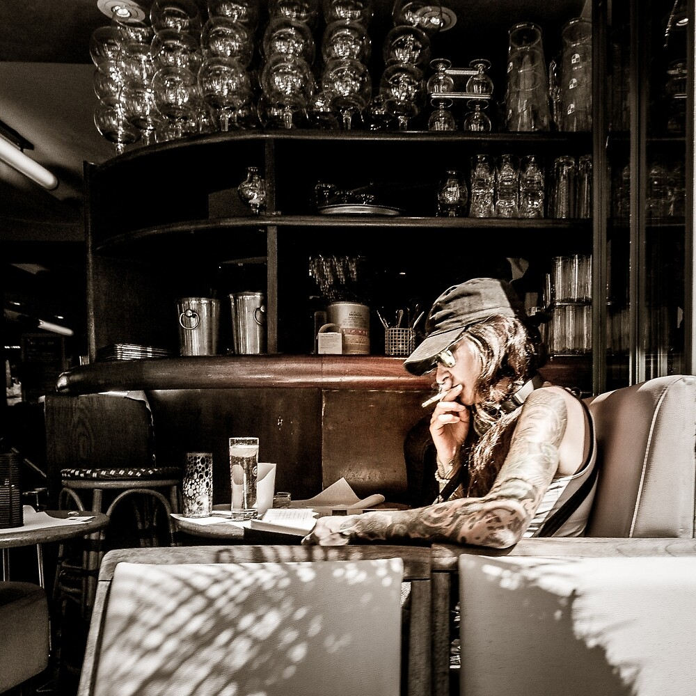 Parisian Rocker by mikemaney