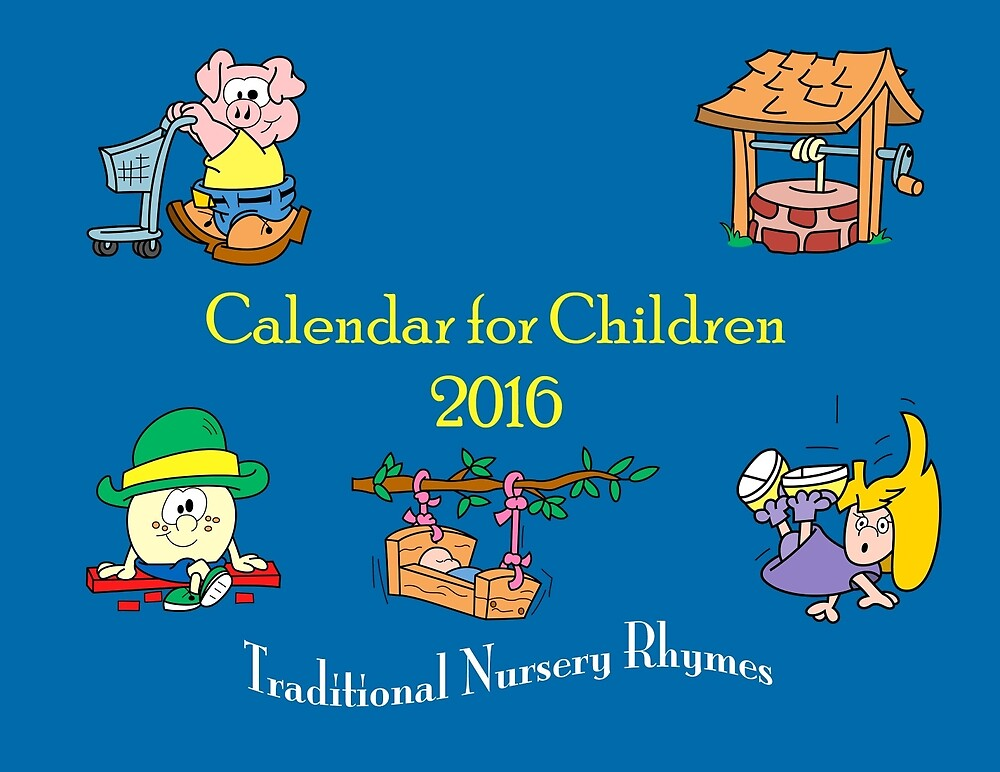 Nursery Rhyme Calendar Cover by KrossKiwi