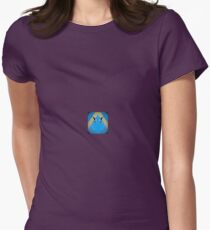 A Circle of Bird Love Womens Fitted T-Shirt