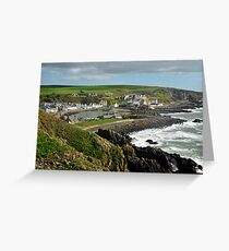 Portpatrick, Dumfries and Galloway. Greeting Card