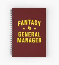 Cuaderno de espiral Director General de Fantasy Football