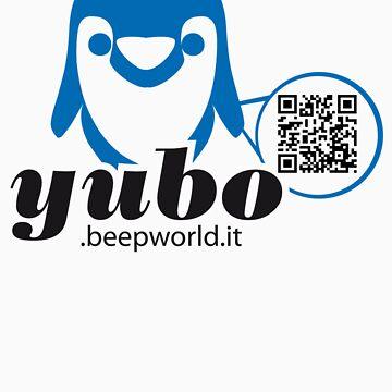 yubo - penguin QRcode by yubo