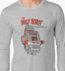 The Daily Robot -The Terrors of Tomorrow Today Long Sleeve T-Shirt