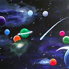 The Planets by Sandy Wager