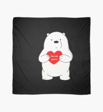 Ice Bear loves you Scarf