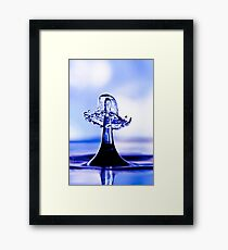 Transparent Water Mushroom Framed Print