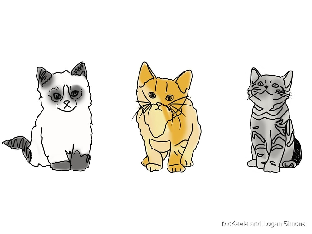 cat tumblr drawings  by Simonsdesign