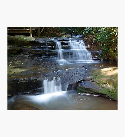 Martin's Creek Cascades Photographic Print