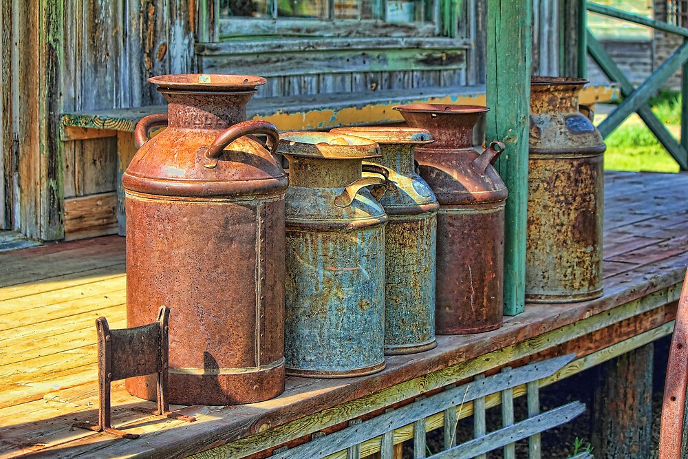 1880 Recycling by Jim  Egner