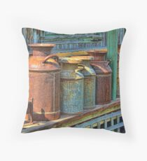 1880 Recycling Throw Pillow