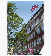 God save the Goring Poster