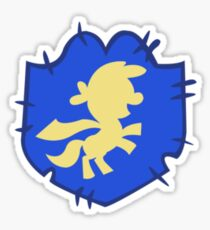 Cutie mark crusaders badge: Left Sticker