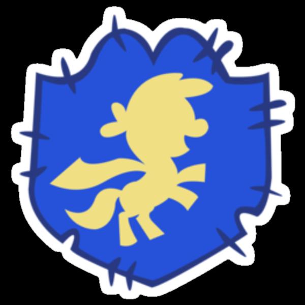 Cutie mark crusaders badge: Left by LcPsycho