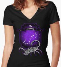 Scorpio Women's Fitted V-Neck T-Shirt