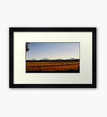 Oregon Plains Framed Print