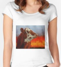 Eye Of The Firestorm Women's Fitted Scoop T-Shirt