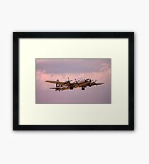 The Last One..................CAF's B29.... Framed Print
