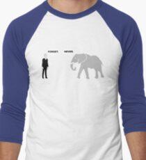 Silence vs. Elephant Men's Baseball ¾ T-Shirt