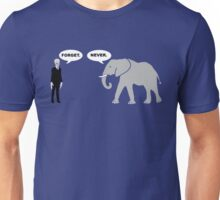 Silence vs. Elephant Unisex T-Shirt