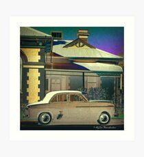 1950s Art Print