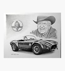 Carroll Shelby  Photographic Print