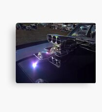 Lonely Supercharger Canvas Print