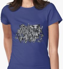 Longing for Picasso Womens Fitted T-Shirt