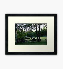 Rural Field Framed Print