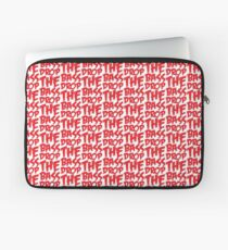 Drop The Bass (Red) Laptop Sleeve