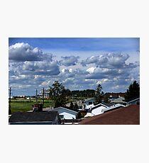 Clouds Over Suburbia II Photographic Print