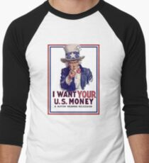 Mad Hatter Tea Party Downgrade Men's Baseball ¾ T-Shirt