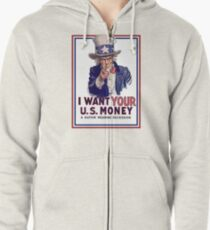 Mad Hatter Tea Party Downgrade Zipped Hoodie