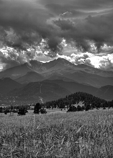 Estes Park from Glen Haven 4  by Robert Meyers-Lussier