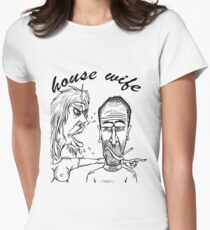 house wife Women's Fitted T-Shirt