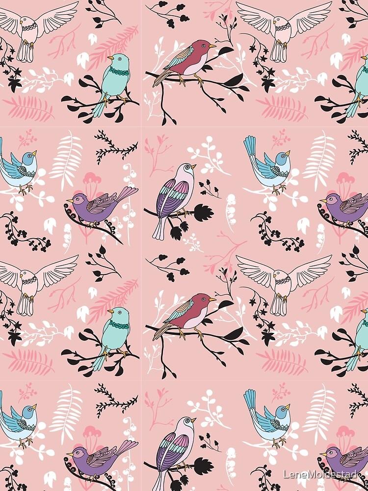 Bird Bliss by LeneMoldestad