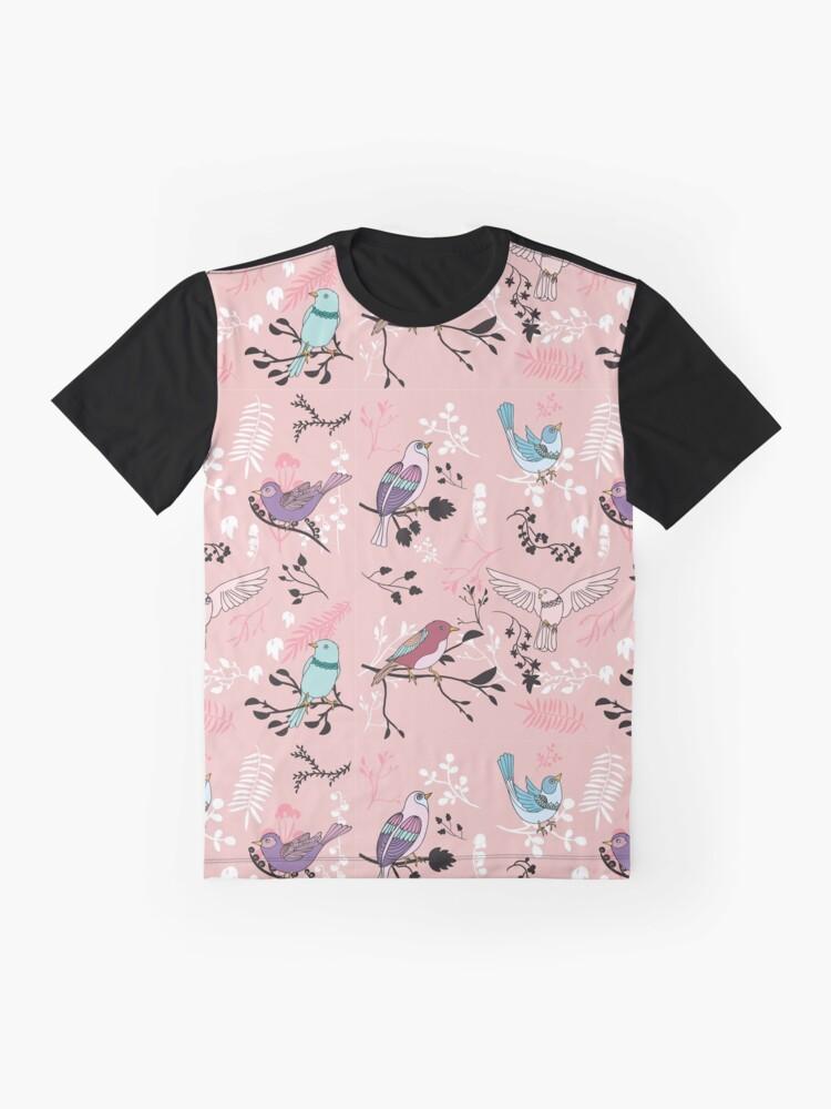 Alternate view of Bird Bliss Graphic T-Shirt