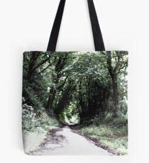 Green pathways - Stone Cross Tote Bag