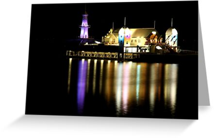 Bar at the end of the Pier by jonxiv