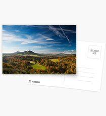 Brushed Eildon Hills  - Scottish Borders Postcards