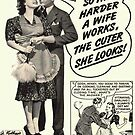 Old ads : How to be an efficient housewife by Margaret Sanderson