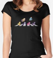 My Little Beatles 2 Women's Fitted Scoop T-Shirt