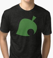 Camiseta de tejido mixto Animal Crossing Leaf