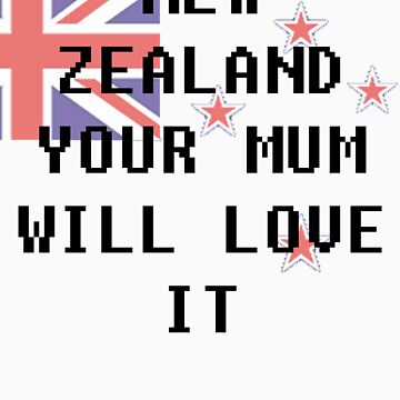 New Zealand by thealexisdesign